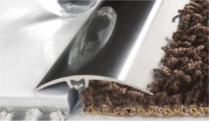 Listwa dylatacyjna szybkiego montażu z uszczelką silikonową Image